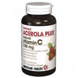 [American Health] Chewable Vitamin C Acerola Plus 100 mg