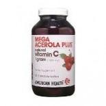 [American Health] Chewable Vitamin C Mega Acerola 1000 mg