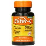 [American Health] Ester-C 500mg w/Citrus Bioflavonoids Vcaps