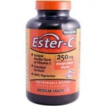 [American Health] Ester-C 250mg Chewable Wafers (Vegetarian)