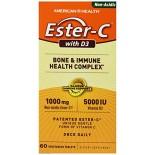 [American Health] Ester-C Ester C w/D3, 1000mg, 5000IU