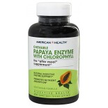 [American Health] Chewable Enzymes Papaya w/Chlorophyll