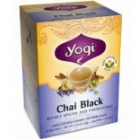 [Yogi Teas] Tea For Your Spirit Chai, Black  At least 70% Organic
