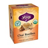 [Yogi Teas] Tea For Your Spirit Chai Rooibos  At least 95% Organic