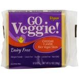 [Go Veggie!] Dairy Free-Slices Cheddar