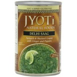 [Jyoti Indian Cuisine] Canned Ready To Eat Entrees Delhi Saag, Spinach & Mustard Greens