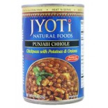 [Jyoti Indian Cuisine] Canned Ready To Eat Entrees Punjabi Chhole