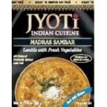 [Jyoti Indian Cuisine] Canned Ready To Eat Entrees Madras Sambar, Lentils w/Frsh Veggie
