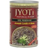 [Jyoti Indian Cuisine] Canned Ready To Eat Entrees Dal Makhani, Aromatic Lentils & Beans