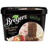 [Breyer`S] All Natural Ice Cream Vanilla/Chocolate/Strawberry