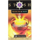 [Stash Tea] Herbal/Black Tea Blends Power Breakfast Black & Mate