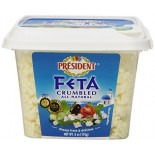 [President] Cheese Feta Crumbled, Plain