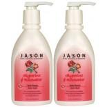 [Jason Natural Cosmetics] Body Wash & Scrubs Glycerine & Rosewater Satin w/Pump