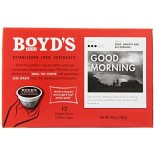 [Boyds Coffee] Single Cup Pods Good Morning
