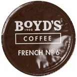 [Boyds Coffee] Single Cup Pods French No. 6