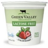 [Green Valley Organics] Lactose Free Yogurt Strawberry  At least 95% Organic