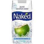 [Naked]  100% Coconut Water  100% Organic