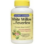 [Nature`S Answer] Single Herb Supplement White Willow w/Feverfew