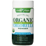 [Green Foods] Green Supplement Chlorella, Powder  100% Organic