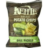 [Kettle Brand] Krinkle Cut Potato Chips Dill Pickle