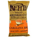 [Kettle Brand] Krinkle Cut Potato Chips Carolina BBQ