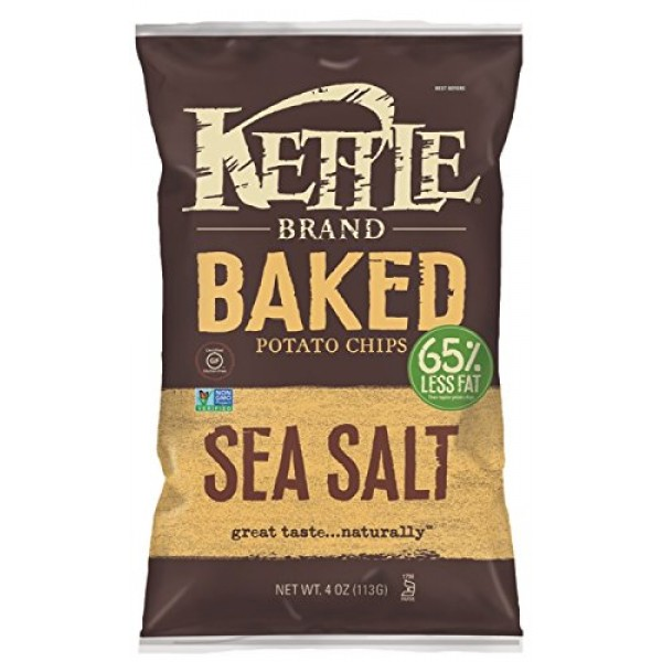 [Kettle Brand] Baked Potato Chips Sea Salt
