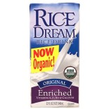 [Rice Dream] Enriched Rice Beverage Original, Unsweetened  At least 95% Organic