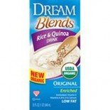 [Dream Blends] Rice Beverages Rice & Quinoa, Orig Enriched  At least 95% Organic