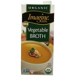 [Imagine Foods] Natural Organic Broths Vegetable  At least 95% Organic