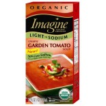 [Imagine Foods] Organic Soup, Light Sodium, Aseptic Creamy Garden Tomato  At least 95% Organic