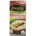 [Imagine Foods] Organic Soup, Light Sodium, Aseptic Creamy Red Bliss Potato/Rst Garlic  At least 95% Organic