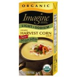 [Imagine Foods] Organic Soup, Light Sodium, Aseptic Creamy Harvest Corn  At least 95% Organic