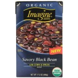[Imagine Foods] Soups, Aseptic Savory Black Bean  At least 95% Organic