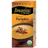 [Imagine Foods] Soups, Aseptic Creamy Pumpkin  At least 95% Organic