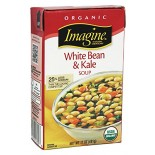 [Imagine Foods] Soups, Aseptic White Bean & Kale, Chunky  At least 95% Organic