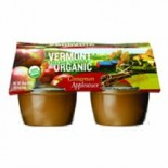 [Vermont Village]  Applesauce, Cinnamon  At least 95% Organic