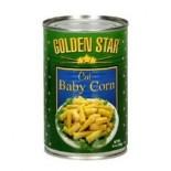 [Golden Star] Asian Vegetables Baby Corn, Cut