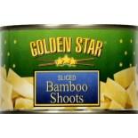 [Golden Star] Asian Vegetables Bamboo Shoots, Sliced