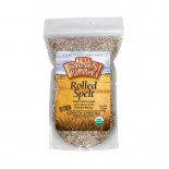 [Grains]  Spelt Flakes, Rolled  100% Organic