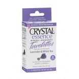 [Crystal] Crystal Essence Towelett Body Deoderant, Lav/White Tea