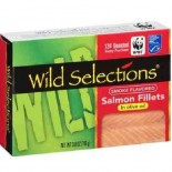 [Wild Selections]  Pink Salmon in Olive Oil
