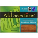 [Wild Selections]  Lightly Smoked Sardine Fillets