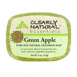[Clearly Natural] Glycerine Soap Green Apple