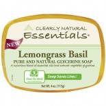 [Clearly Natural] Glycerine Soap Lemongrass Basil