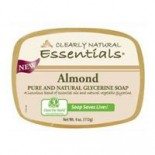 [Clearly Natural] Glycerine Soap Almond