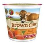 [Brown Cow Yogurt] Cream Top Yogurt Peach