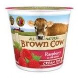 [Brown Cow Yogurt] Cream Top Yogurt Raspberry