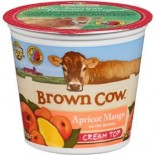 [Brown Cow Yogurt] Cream Top Yogurt Apricot Mango