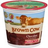 [Brown Cow Yogurt] Cream Top Yogurt Chocolate