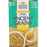 [Ancient Harvest] Hot Cereal Honey Vanilla Spice  At least 95% Organic